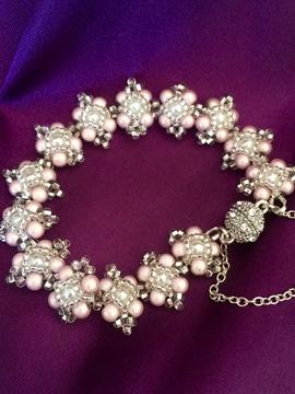 Bracelet Perla rose