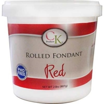 Fondants à Rouler Rouge de CK Products | 77-872091