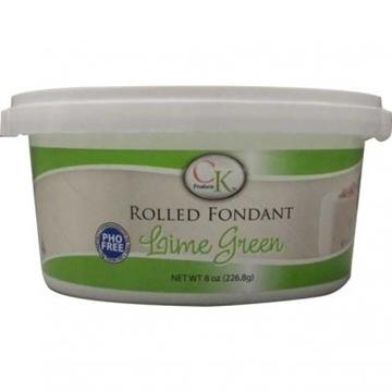 Fondants à Rouler Vert Lime de CK Products | 77-878111