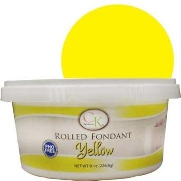 Fondants à Rouler Jaune de CK Products | 77-878101