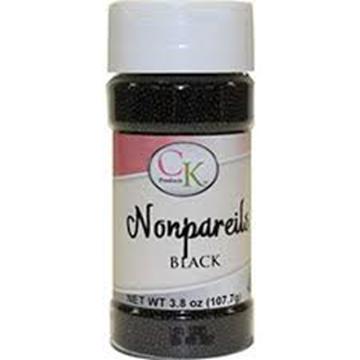 Nonpareils Black 3.8 oz de CK Products   78-520K