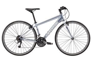 Cannondale - Vélo hybride - 700 F Quick 6 STE - BLEU ACIER - F - PETIT