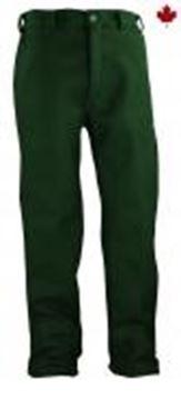 Image de pantalon en laine régulier vert Big BIll 214