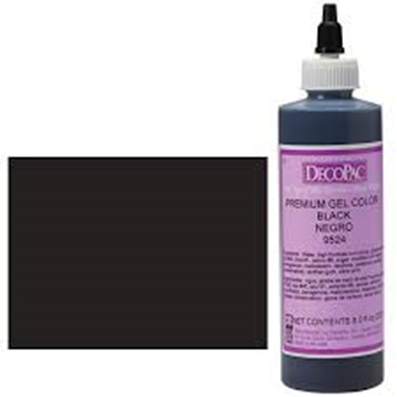 Premium Gel Couleur Black de DecoPac | 9524