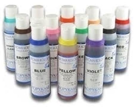 Image de Kroma Kolors Colorant Air Brush Yellow | 34-440