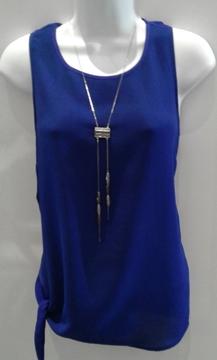 Image de Bench tunique gros bleu avec noeud sur le côté