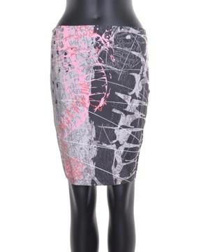 Image de Voltdesign jupe courte collection Kampo avec motif