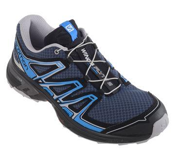 Chaussure de course trail Salomon Wings Flyte 2 homme bleu-noir
