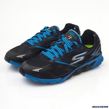 Chaussure de course route Skechers Go Run 4 GoDri homme noir-bleu