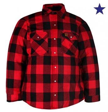 Image de chemise doublé en flannel Big Bill rouge 221Q