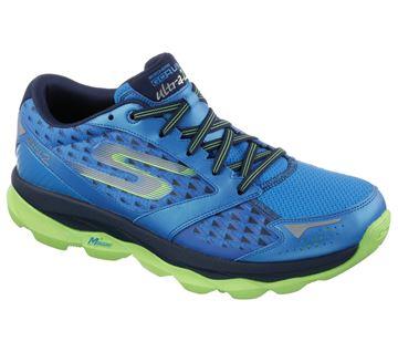 Chaussure de course route Skechers Gorun Ultra 2 homme bleu-vert