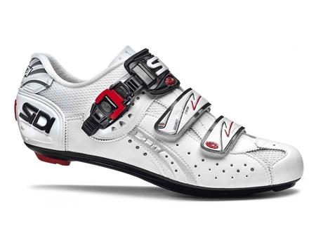 Image de Chaussure de vélo Sidi genius 5 fit carbone route homme blanc