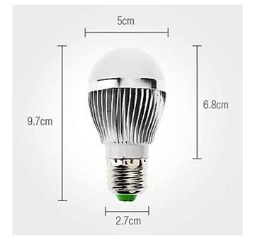 Image de Ampoule LED 3W blanc CHAUD 12V/24V Dimmable