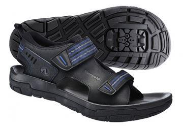 Chaussure de vélo Shimano (sandale) SH-SD66L homme noir