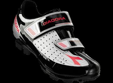 Chaussure de vélo Diadora X-Phantom route femme noir-blanc-rose