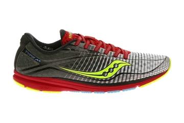 SAUCONY - Chaussures de course sur route - TYPE A6 WHT-BLK-RED- bleu-jaune-rouge - homme