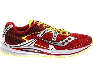 SAUCONY - Chaussures de course sur route - FASTWITCH RED/WHT/CTN 8 - rouge-jaune - homme