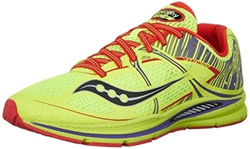 SAUCONY - Chaussures de course sur route - FASTWITCH  F CITRON GR6.5 - jaune-rouge - femme