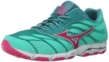 MIZUNO - Chaussures de course sur route -  HITOGAMI WOMENS - vert-rose - femme