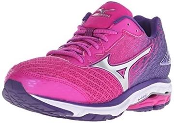 MIZUNO - Chaussures de course sur route - WAVE RIDER 19 WOMENS - rose-mauve - femme