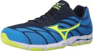 MIZUNO - Chaussures de course sur route - HITOGAMI 3 H - bleu-jaune - homme