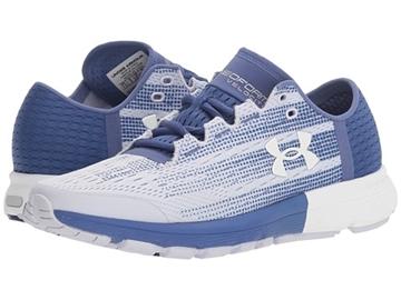 UNDER ARMOUR - Chaussures de course sur route - UA W SPEEDFORM VELOCITI-LIC/DPL/WHT- BLANC-MAUVE - femme