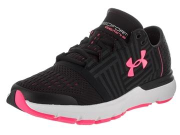 UNDER ARMOUR - Chaussures de course sur route - UA W SPEEDFORM GEMINI 3-BLK/WHT/CER - NOIR-ROSE-BLANC - femme