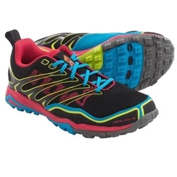 INOV-8 - Chaussures de course en sentier - TRAIL ROC 255 - rose-bleu-jaune - femme