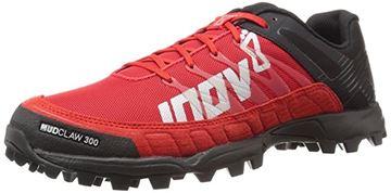 INOV-8 - Chaussures de course en sentier - INOV8 MUDCLAW 300 - ROUGE-NOIR - homme