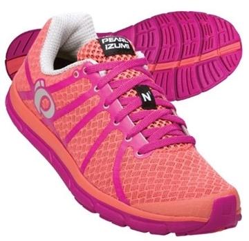 PEARL IZUMI - Chaussures de course sur route - W EM ROAD N1 - orange-rose - femme