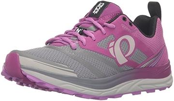 PEARL IZUMI - Chaussures de course en sentier - TRAIL N2 V3 - gris-rose - femme