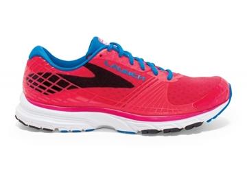 BROOKS - Chaussures de course sur route - LAUNCH 3 - ROSE-BLEU - femme