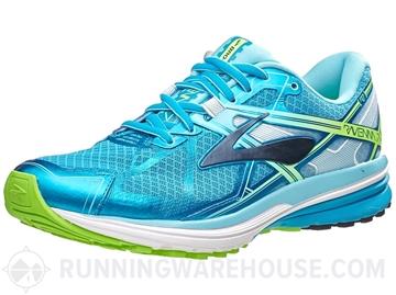 BROOKS - Chaussures de course sur route - RAVENNA 7 - bleu-vert - femme
