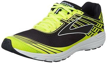BROOKS - Chaussures de course sur route - ASTERIA - JAUNE-NOIR - homme