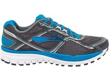 BROOKS - Chaussures de course sur route - GHOST 8 MENS - bleu-gris - homme