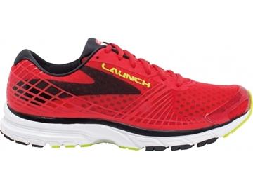 BROOKS - Chaussures de course sur route - LAUNCH 3 - ROUGE-BLANC - homme