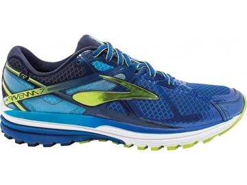 BROOKS - Chaussures de course sur route- RAVENNA 7 MEN - bleu-vert-blanc - homme