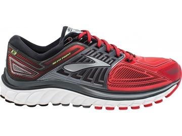 BROOKS - Chaussures de course sur route- GYCERIN 13 MENS - ROUGE-GRIS-BLANC - homme