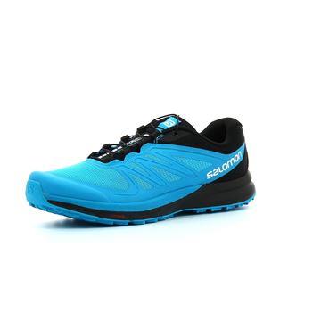 SALOMON - Chaussures de course en sentier -  SENSE PRO 2 - BLEU-NOIR - homme