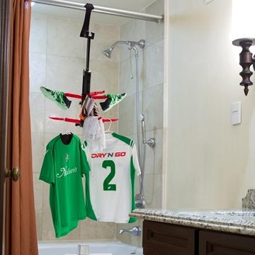 Séchoir pour vêtements de soccer