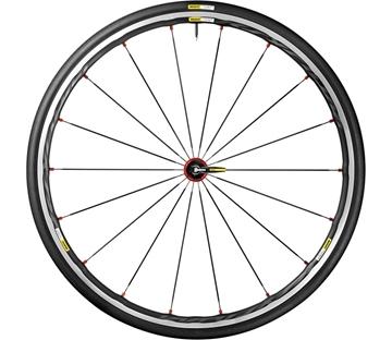 MAVIC - Roue de vélo de route - Ksyrium - Rouge - 17mm