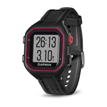 GARMIN - Montre GPS - FORERUNNER 25 - Unisexe - Rouge-noir