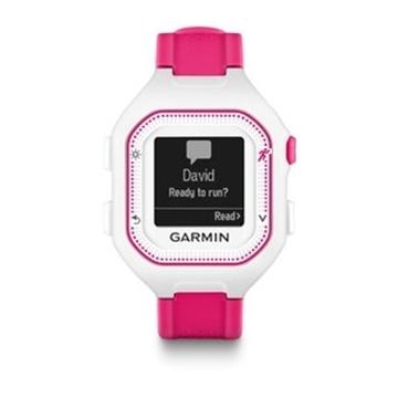 GARMIN - Montre GPS - FORERUNNER 25 - Femme - Rose-blanche
