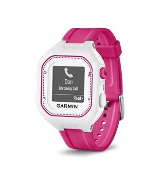 GARMIN - Montre GPS - FORERUNNER 25 avec moniteur cardiaque - Femme - Rose-blanc