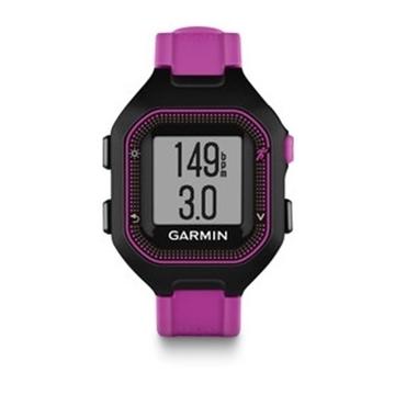 GARMIN - Montre GPS - FORERUNNER 25 - Femme - Rose-noir