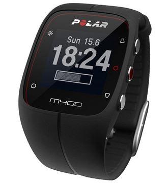 POLAR - Montre GPS de course à pied - M400 - Unisexe - Noir