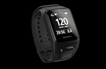 TOMTOM - Montre GPS - SPARK CARDIO  avec fréquence cardiaque au poignet - Unisexe - Noir