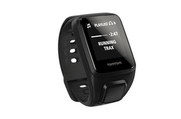 TOMTOM - Montre GPS - Spark Cardio + Music avec fréquence cardiaque au poignet- Unisexe - Noir