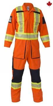 Image de Couvre-tout Hi-Viz Bandes Réfléchissantes Orange / BIG BILL 1324HVT