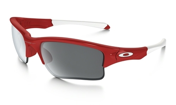 OAKLEY - Lunette de soleil - QUARTER JACKET - IRIDIUM - Youth - Rouge
